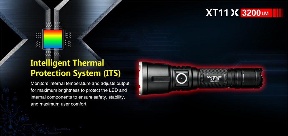 klarus xt11x flashlight 2018