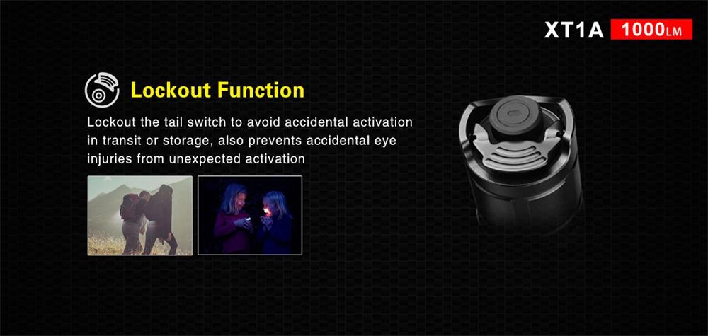 buy klarus xt1a led flashlight