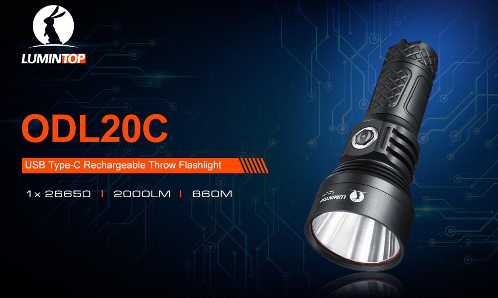 lumintop odl20c flashlight