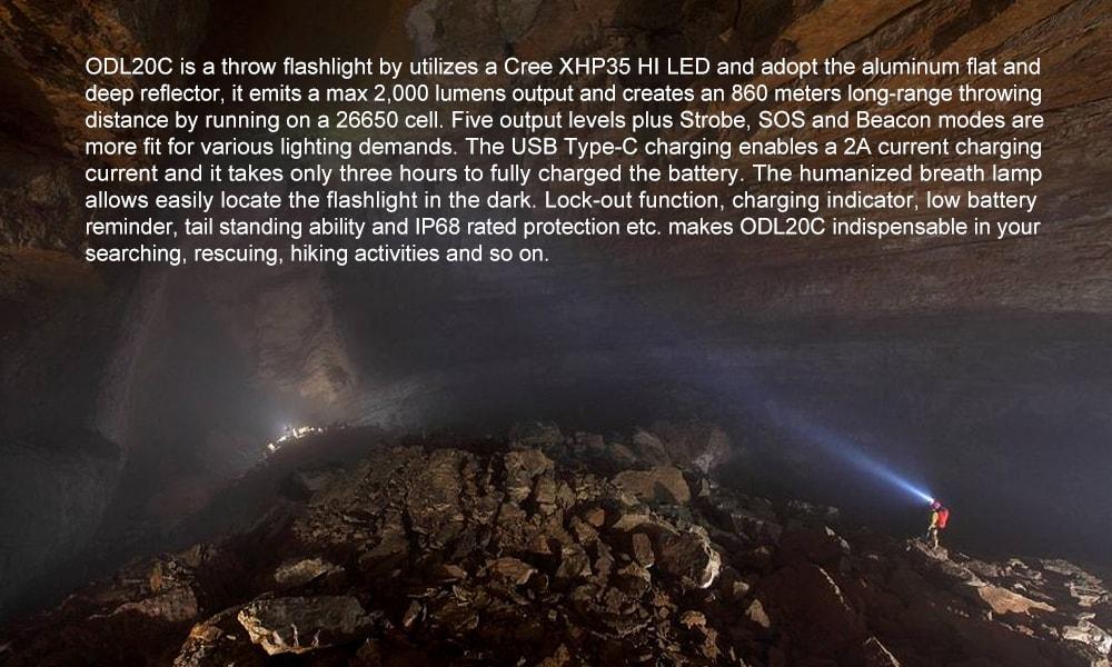 odl20c flashlight