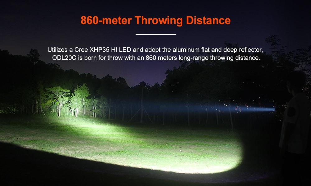 lumintop odl20c led flashlight