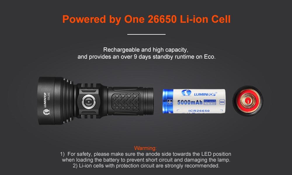 buy lumintop odl20c flashlight