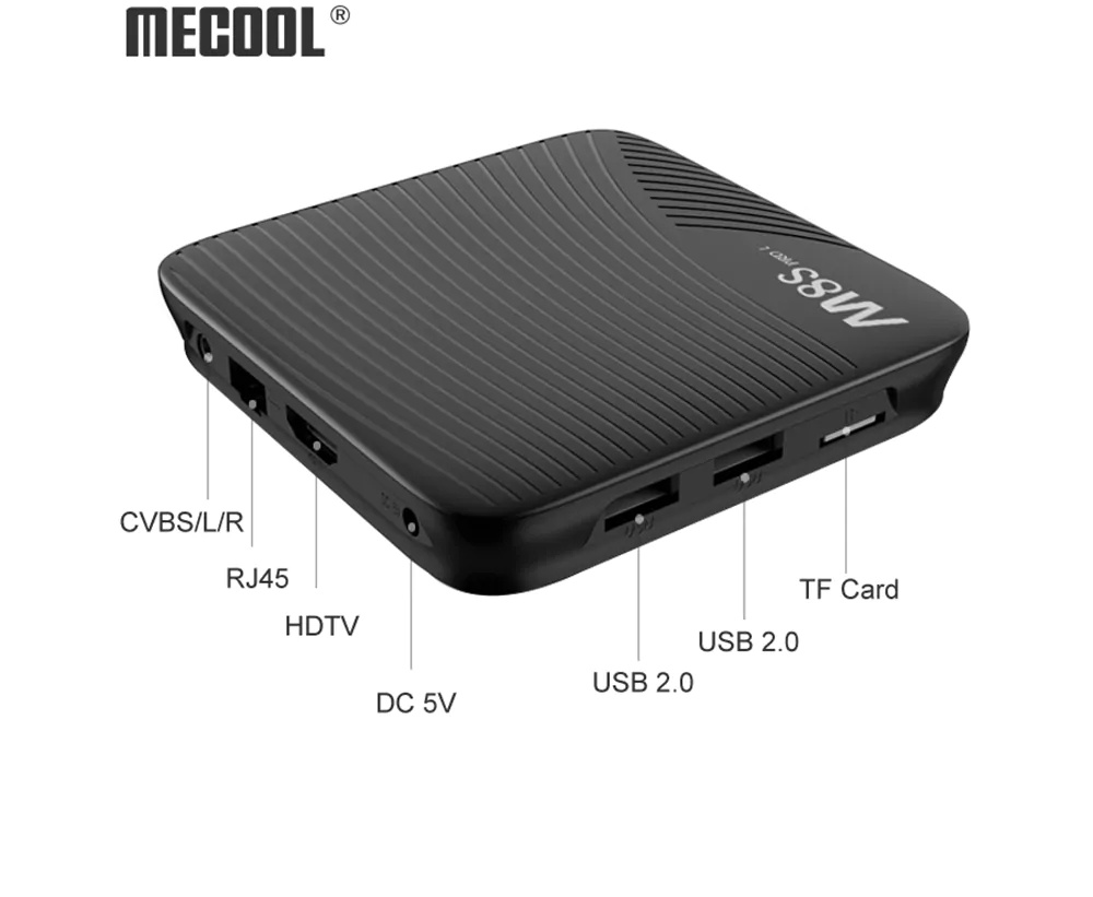mecool m8s pro l 4k tv box