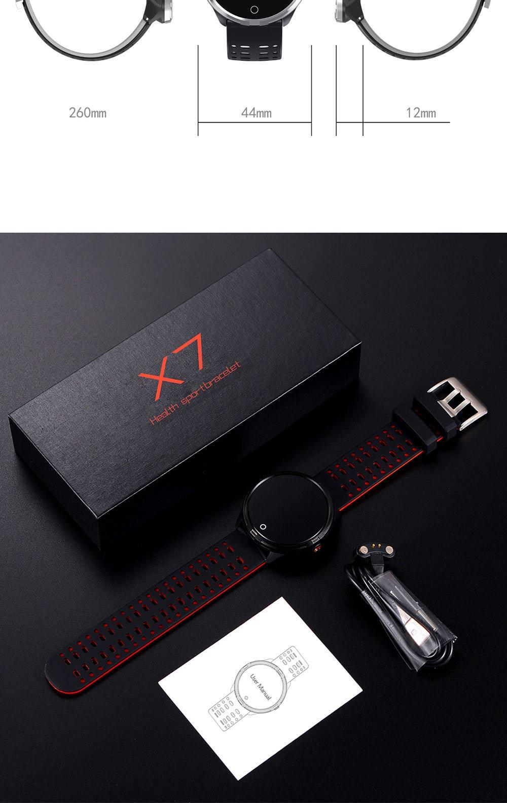 microwear x7 waterproof smart bracelet