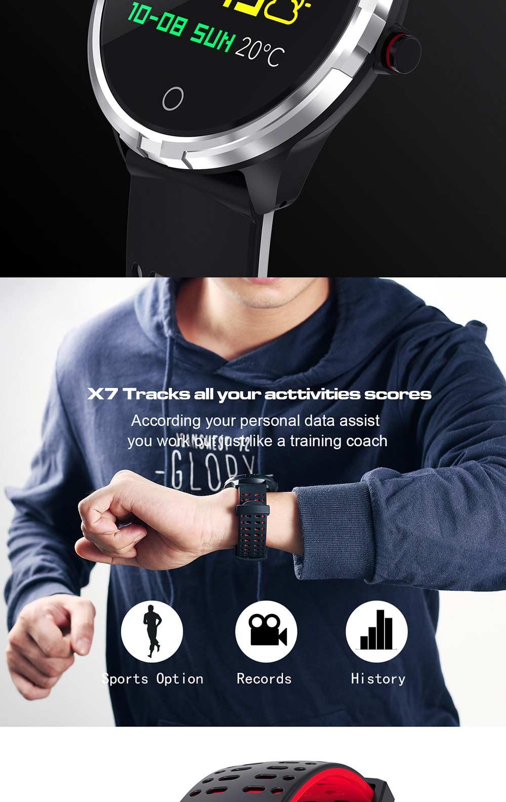 microwear x7 sport smartwatch