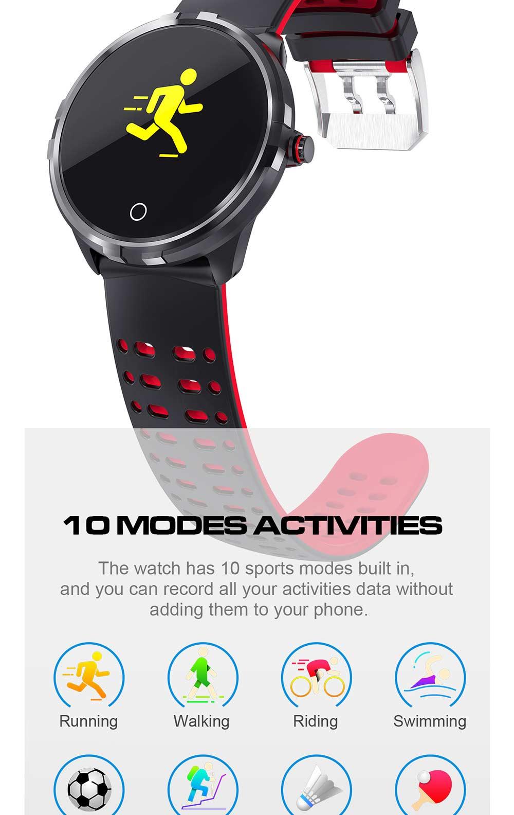 microwear x7 waterproof smartwatch
