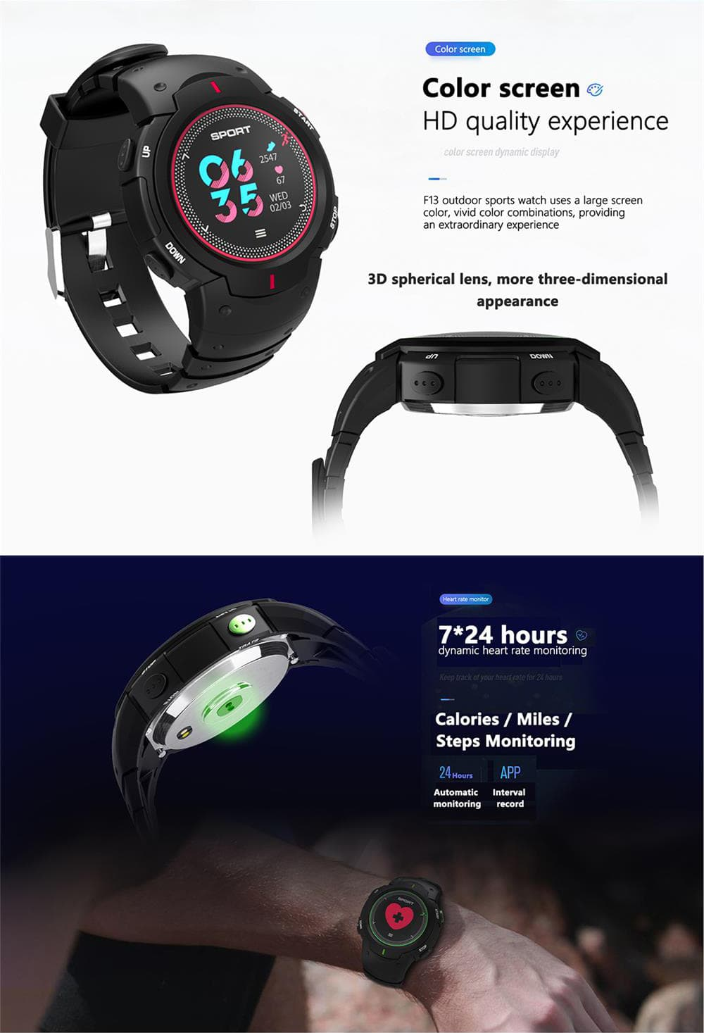 no.1 f13 sports smartwatch