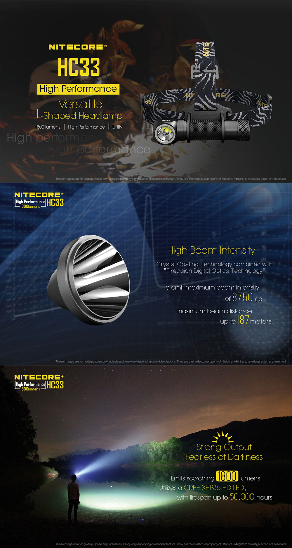 nitecore hc33 headlight