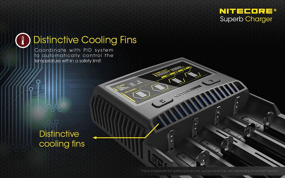 buy nitecore sc4 superb charger