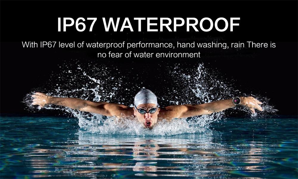 oukitel waterproof smartwatch