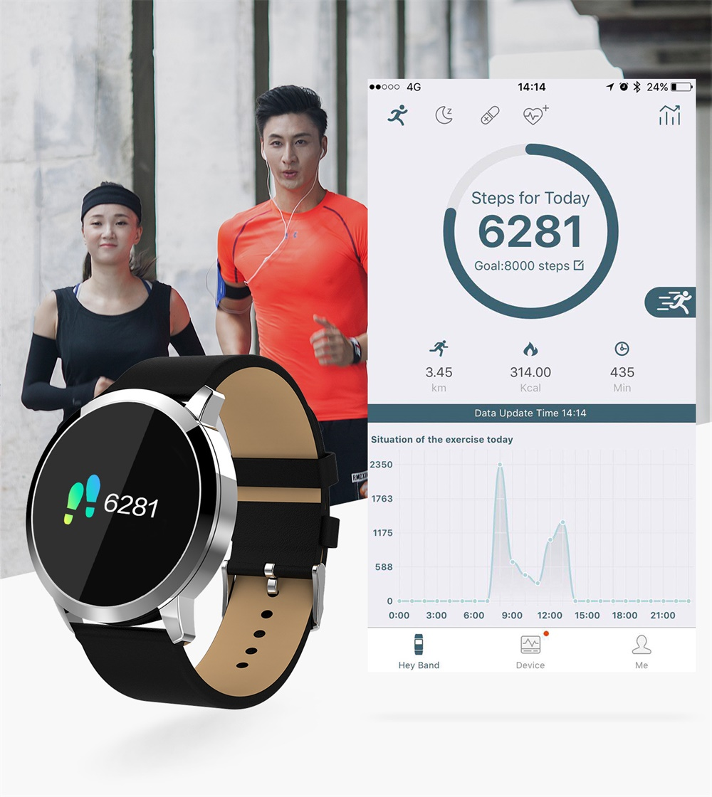 new oukitel sports smartwatch