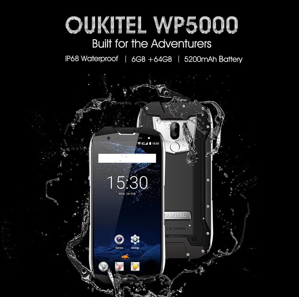 oukitel wp5000 4g smartphone