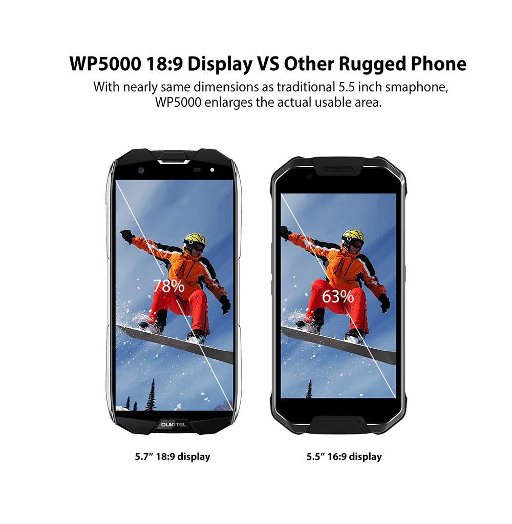 oukitel wp5000 64g smartphone