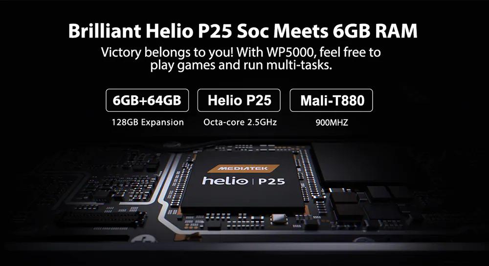 wp5000 4g smartphone