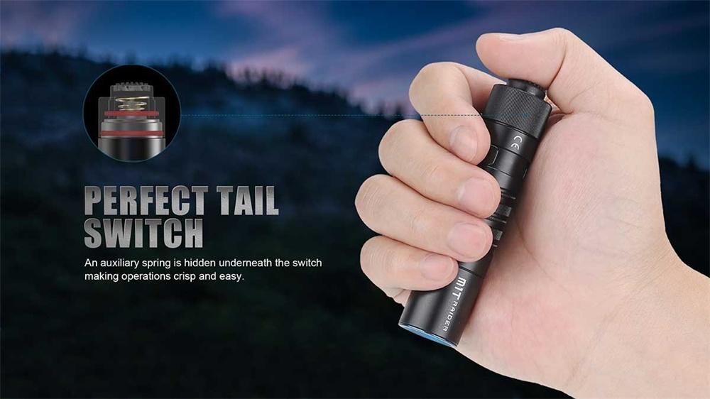 m1t raider edc flashlight