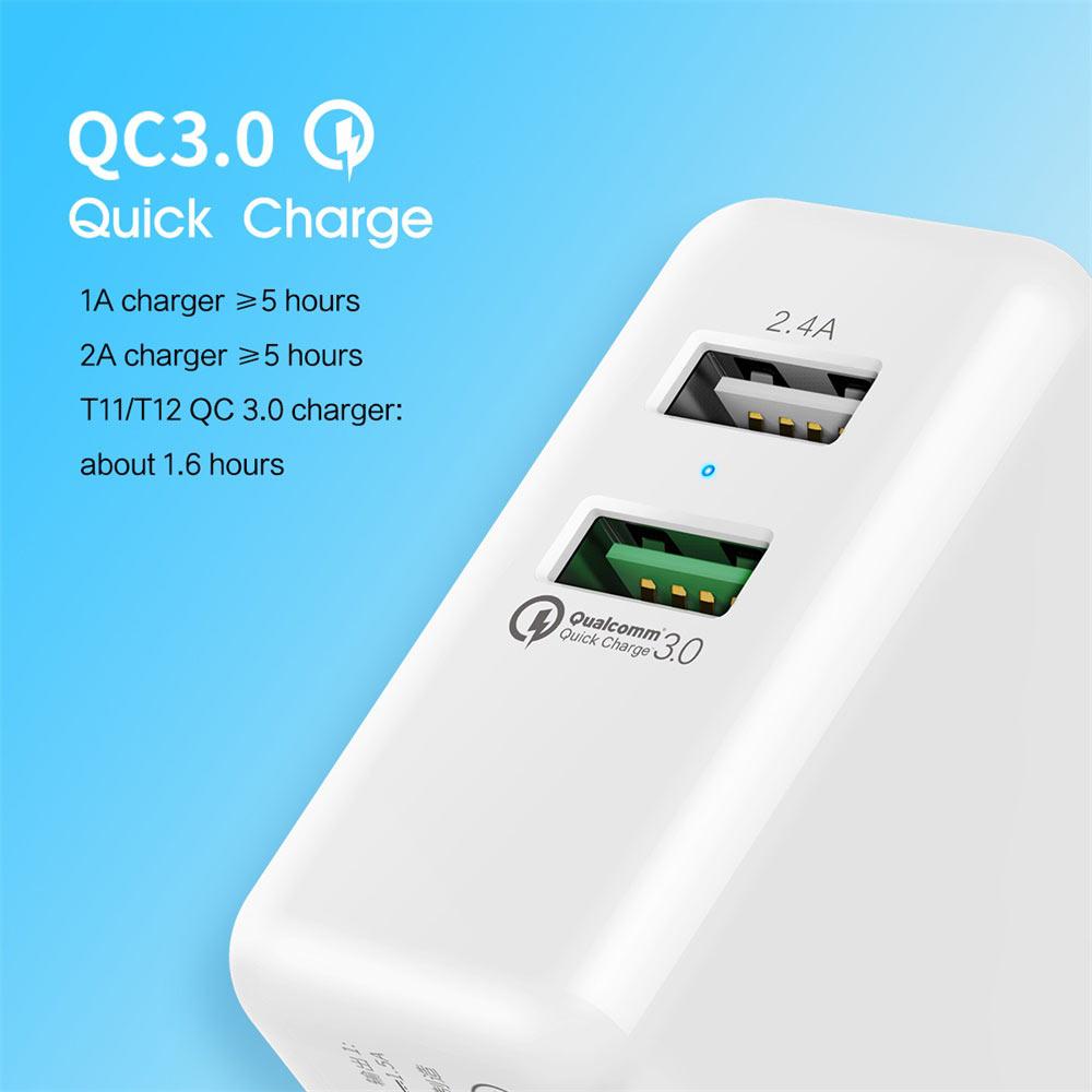 rock qc 3.0 dual usb charger