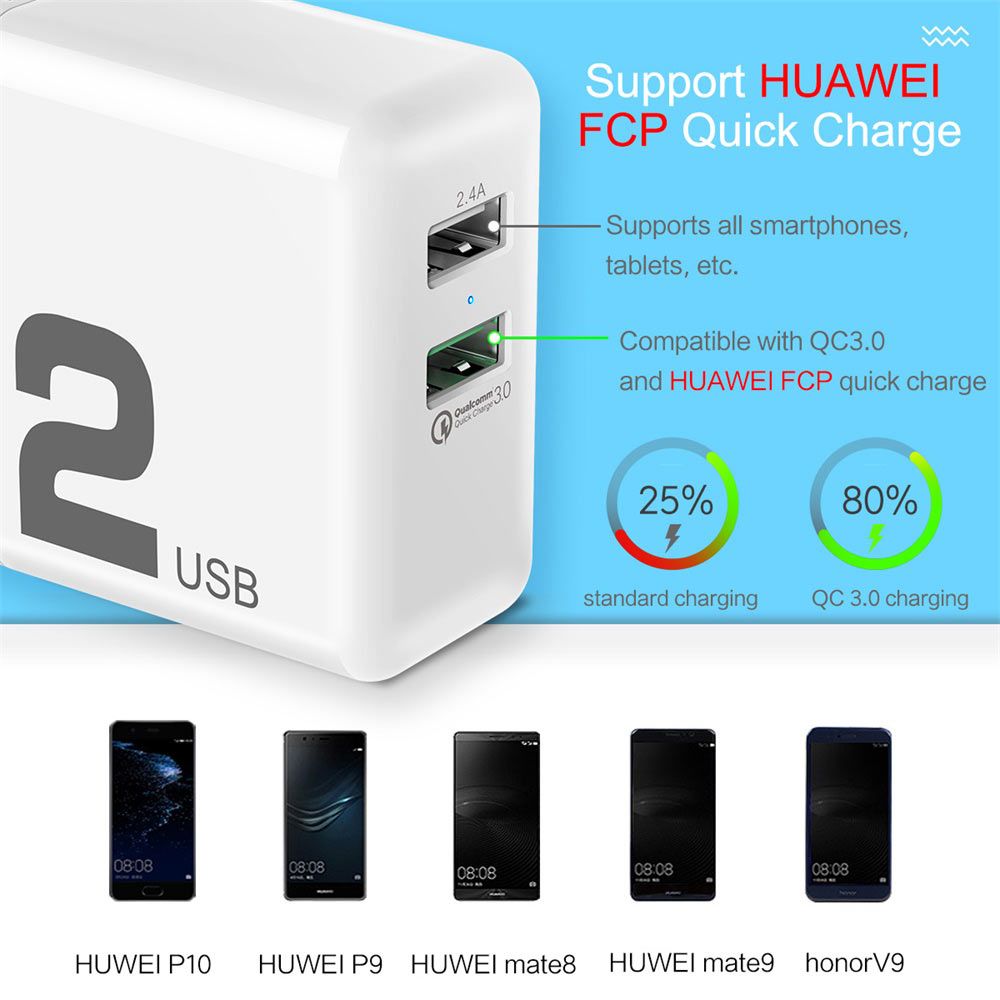rock qc 3.0 phone charger