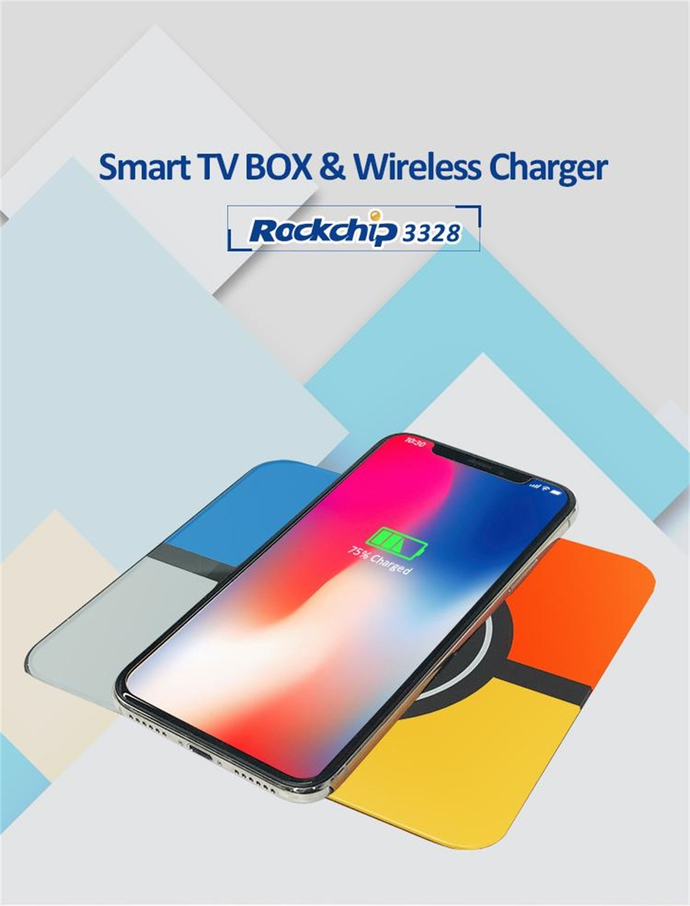 Buy R Tv Box S10 Plus 4gb Ram 32gb Rom With Wireless Charging And Inductor Coil For Camera Power Coilinductor