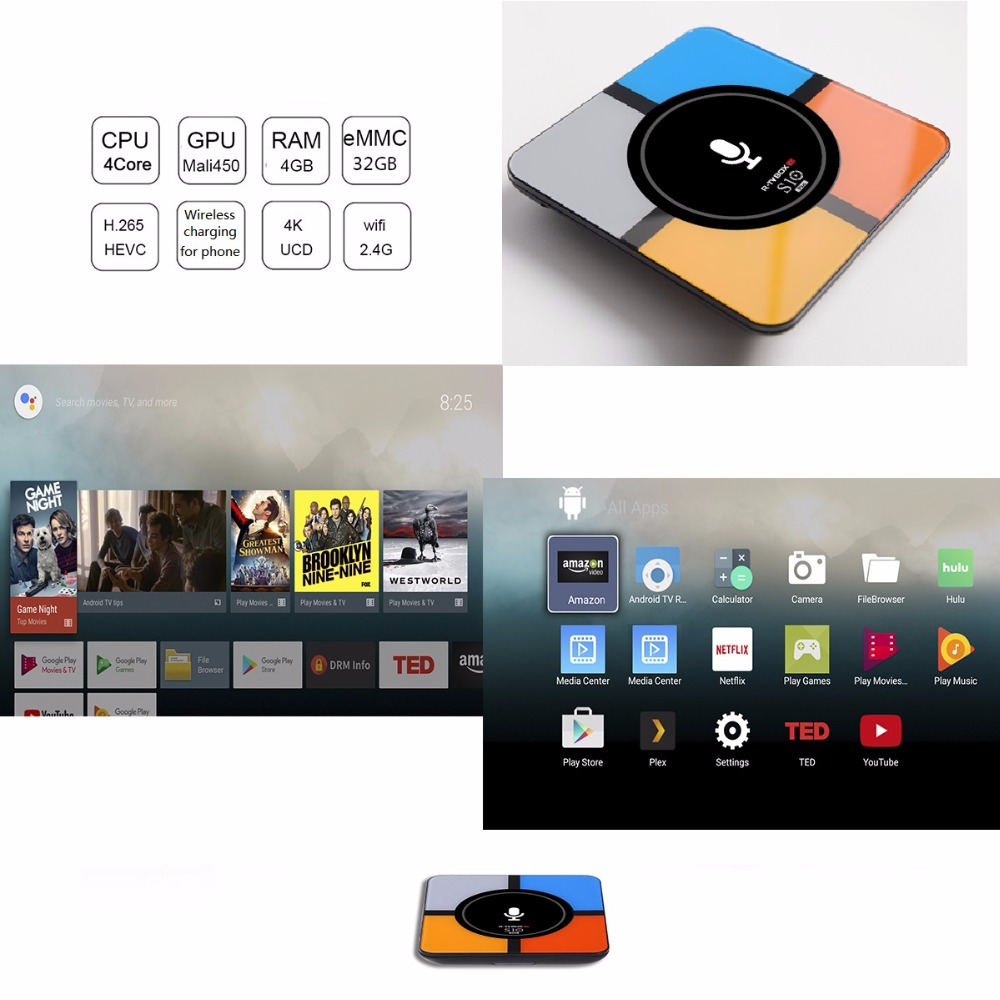 s10 plus android tv box