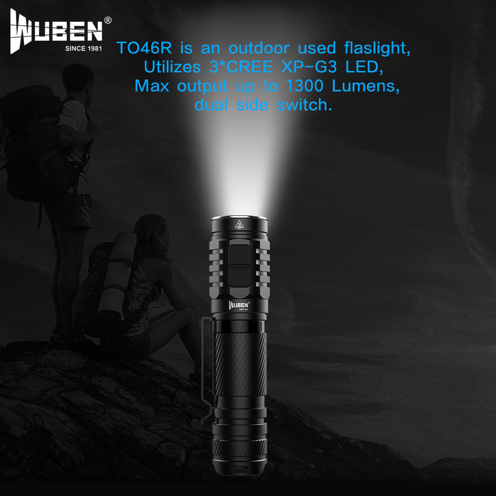 wuben to46r flashlight