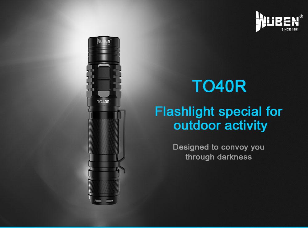 wuben to40r flashlight