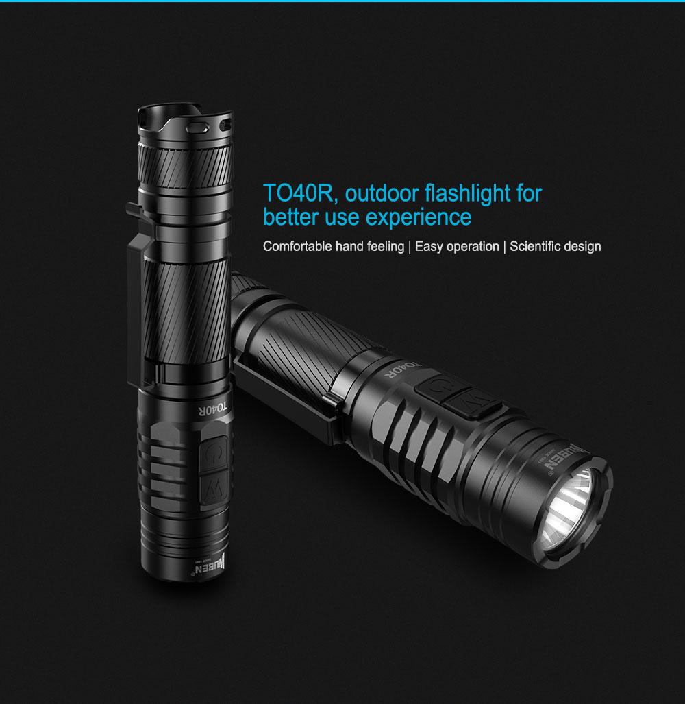 wuben to40r mini flashlight