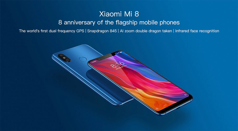 mi 8 smartphone