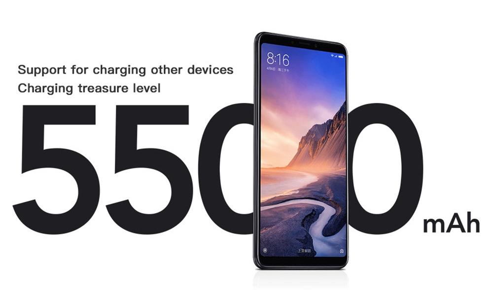 mi max 3 4g smartphone