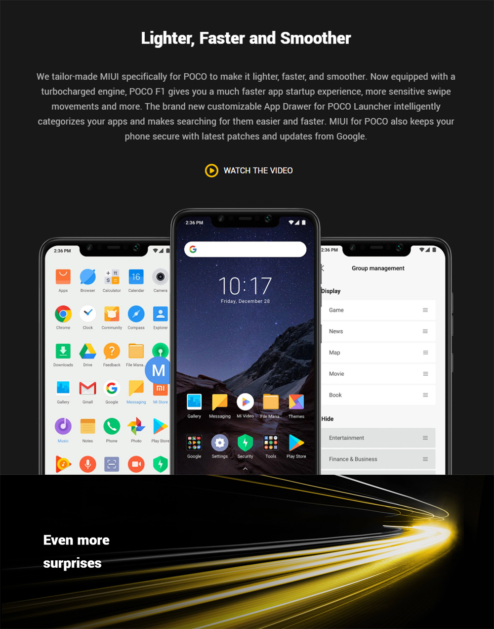 poco f1 4g smartphone