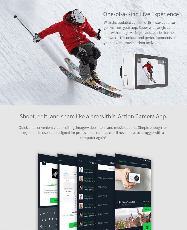 yi 2 action camera
