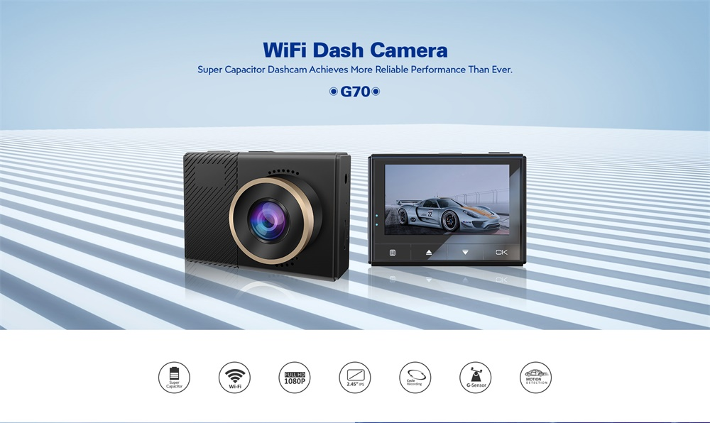 azdome g70 car dvr