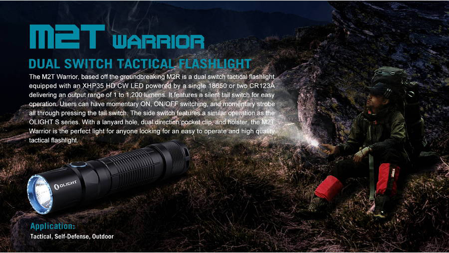 m2t warrior tactical flashlight