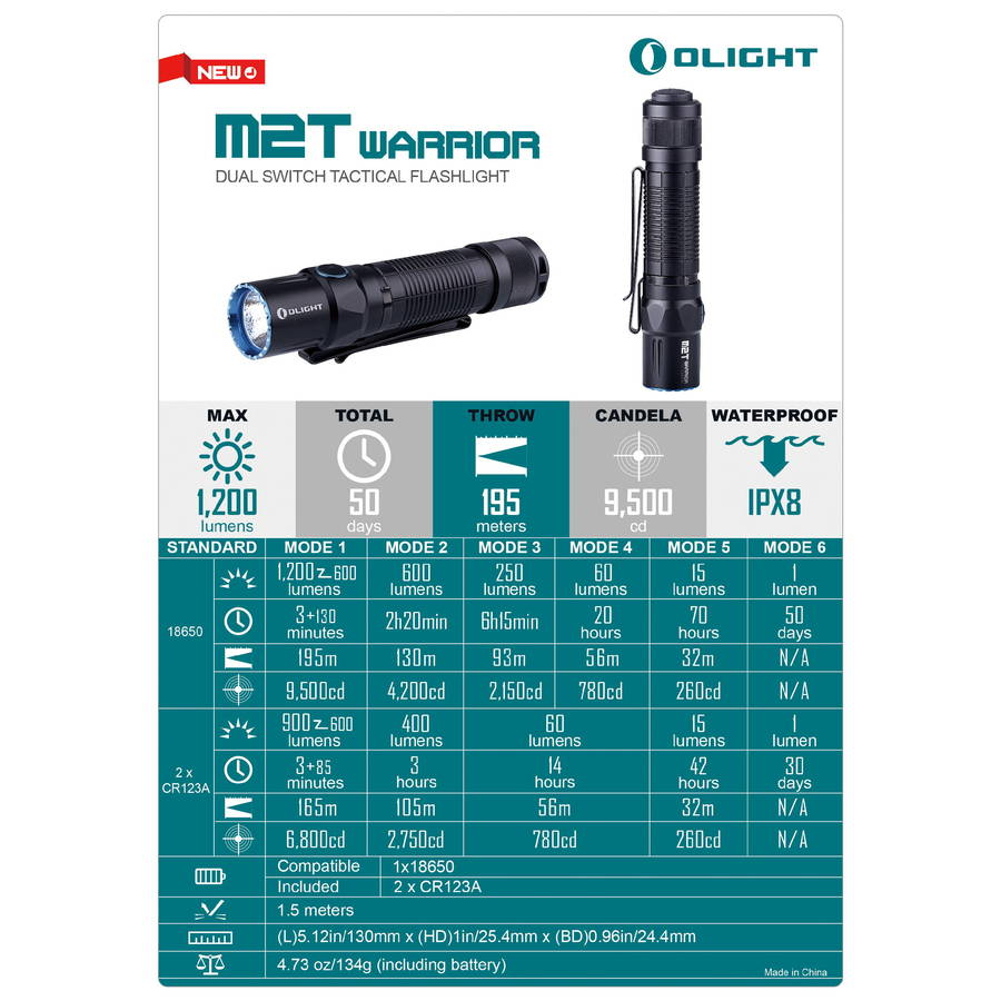 olight led flashlight 2018