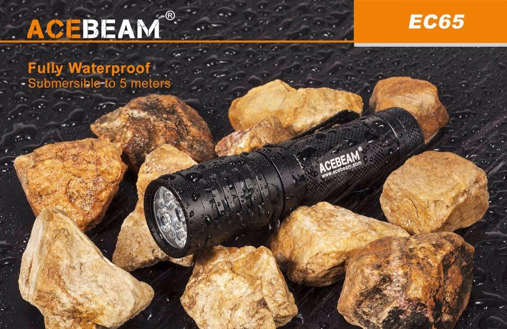 acebeam usb c flashlight 2018