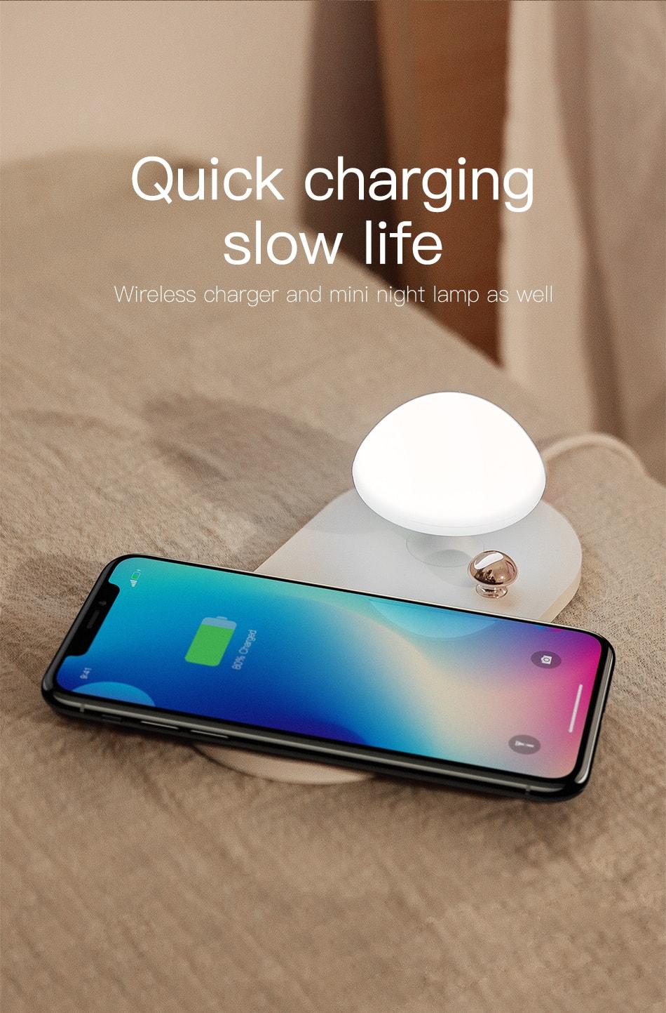 baseus mushroom charger