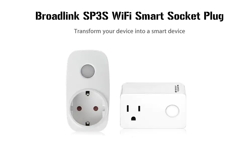 broadlink sp3s socket