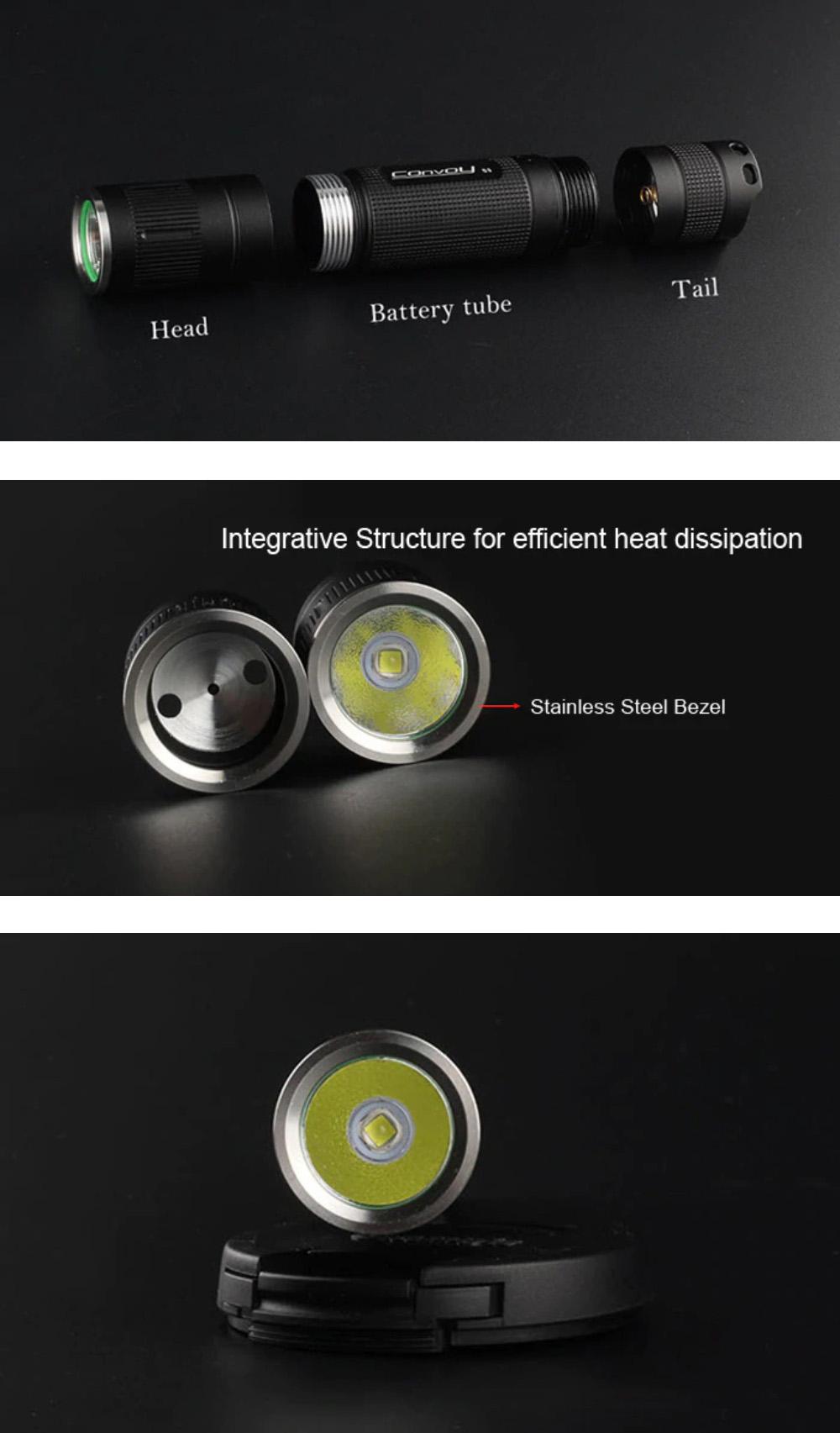 convoy s3 xm flashlight