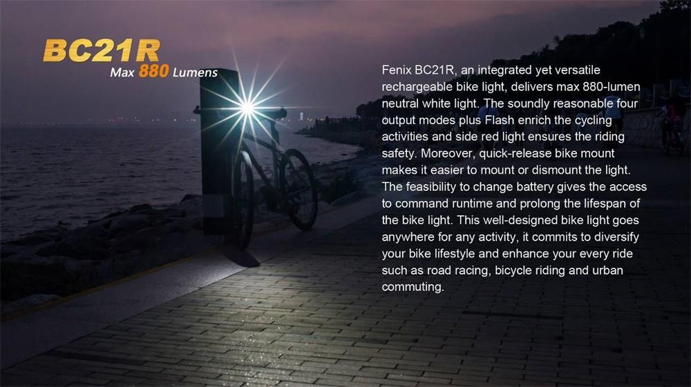 fenix bc21r led light