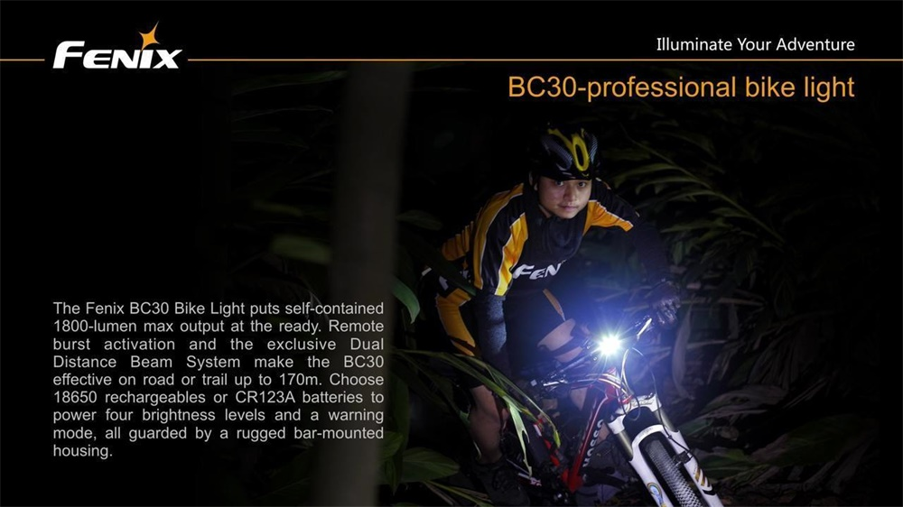 fenix bc30 led light