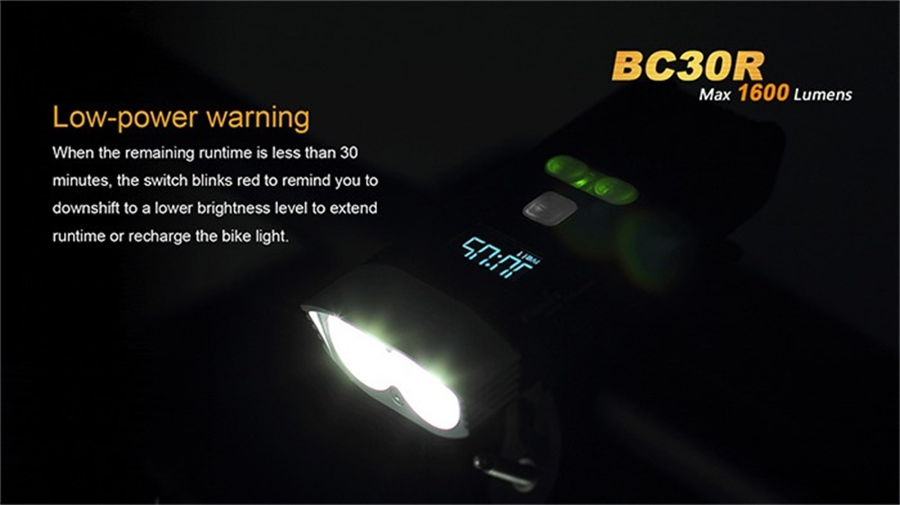 fenix bc30r bicycle light