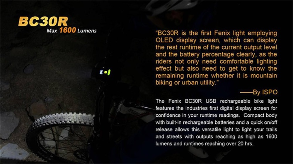 fenix bc30r led light