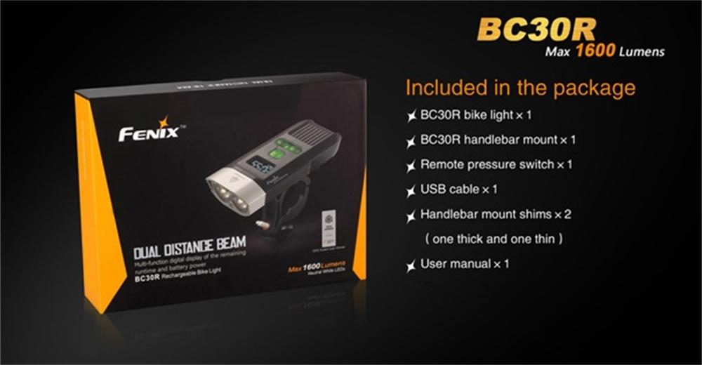 new fenix bc30r light