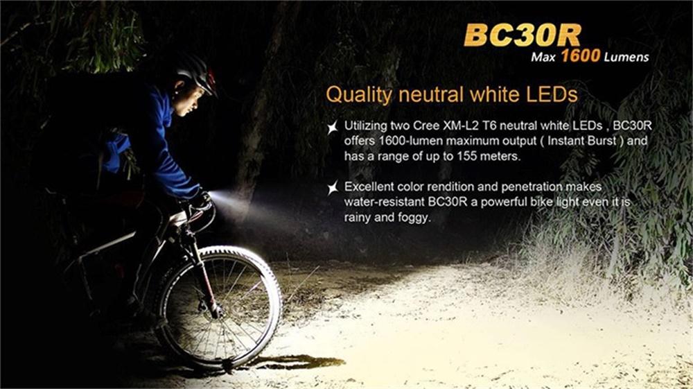 new fenix bike light