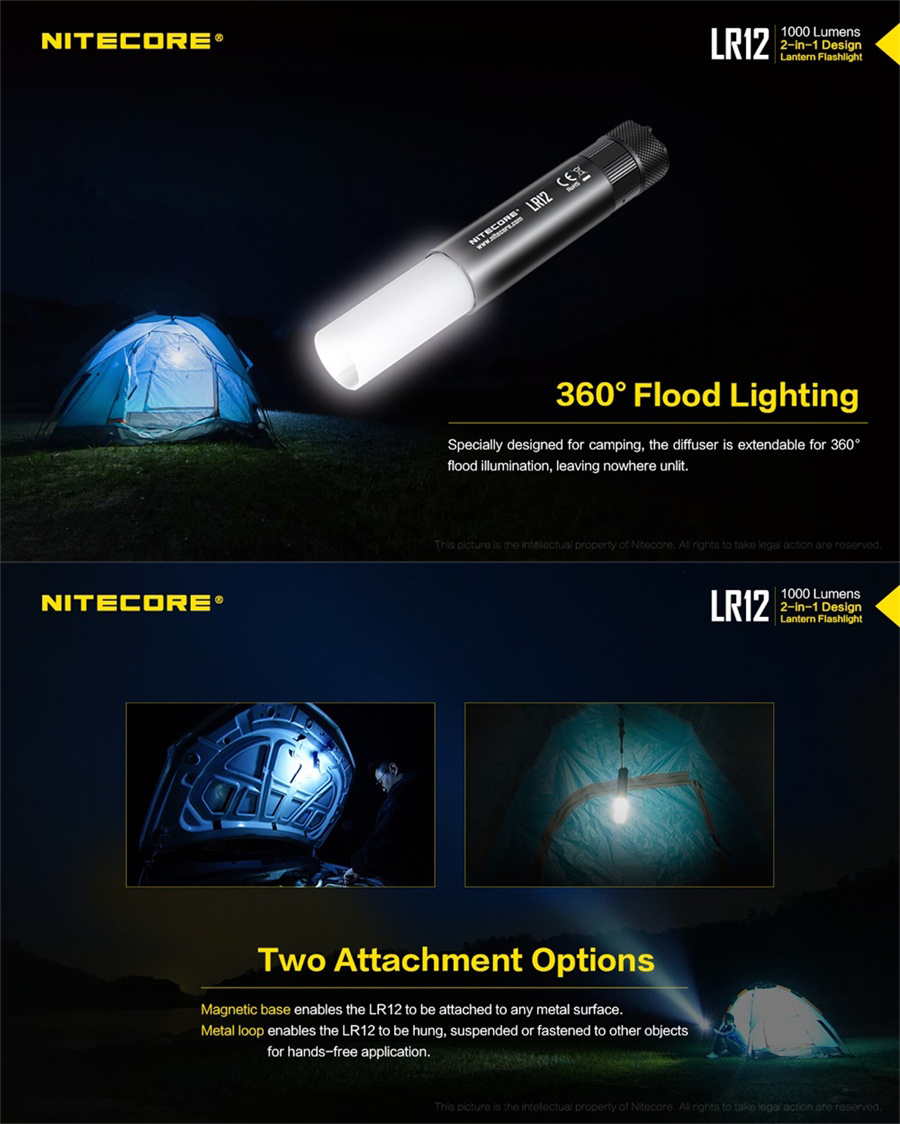 lr12 flashlight