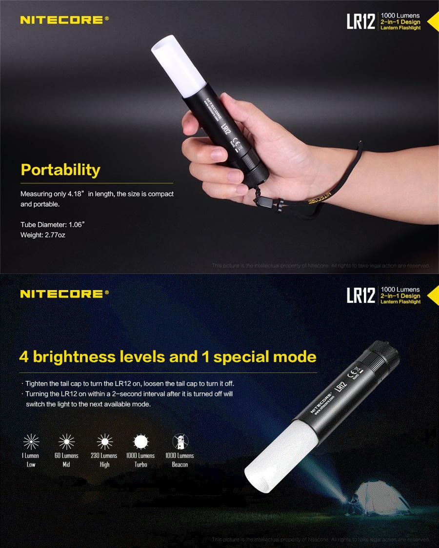nitecore lr12 light
