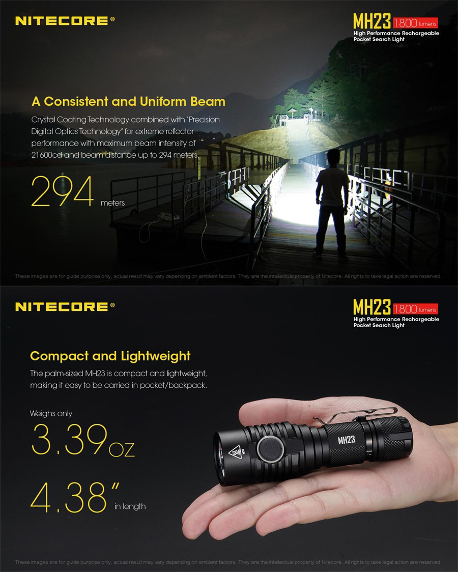 nitecore mh23