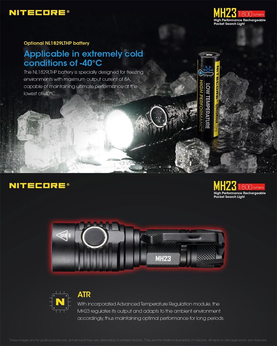 mh23 led flashlight