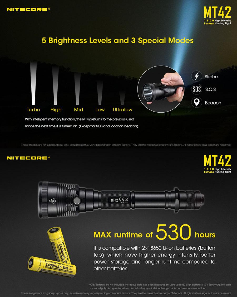 mt42 hunting flashlight