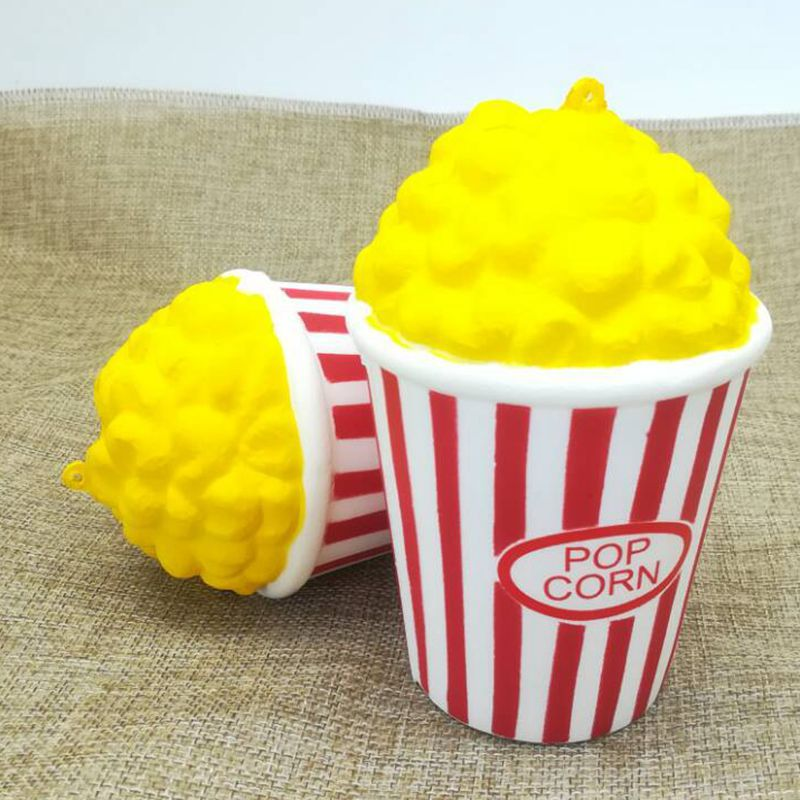 2018 new squeeze popcorn cup