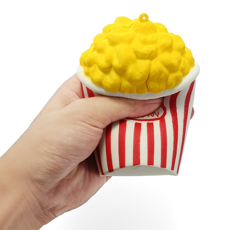 squishy popcorn slow rising toy
